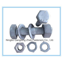 AS/NZS 1252 Grade 8.8 Large Hex Head Bolt for Steel Structure (Australian Standard)